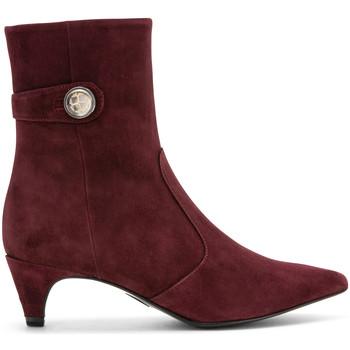 Čevlji  Ženske Gležnjarji Carmens Padova A42191 Rdeča