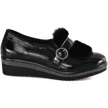 Čevlji  Ženske Mokasini Grunland SC3148 Črna