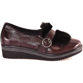 Čevlji  Ženske Mokasini Grunland SC3148 Rdeča
