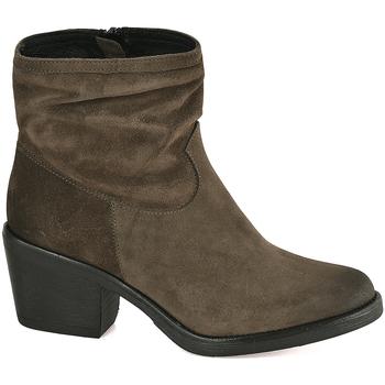 Čevlji  Ženske Gležnjarji Mally 5341 Zelena
