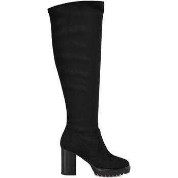 Čevlji  Ženske Mestni škornji    Mally 6389 Črna