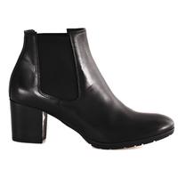 Čevlji  Ženske Gležnjarji Mally 6418 Črna