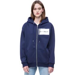 Oblačila Ženske Puloverji Calvin Klein Jeans J20J207832 Modra