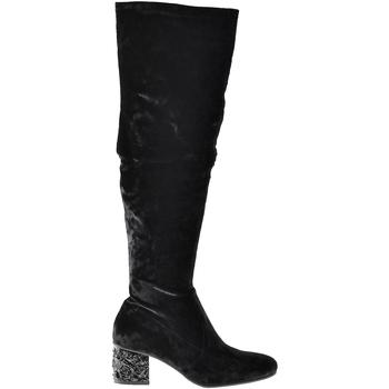 Čevlji  Ženske Mestni škornji    Elvio Zanon I1903B Črna