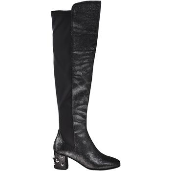 Čevlji  Ženske Mestni škornji    Elvio Zanon I5504G Črna