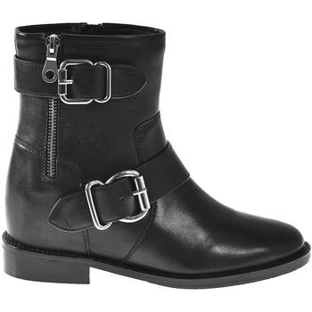 Čevlji  Ženske Gležnjarji Elvio Zanon I7005N Črna