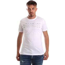 Oblačila Moški Majice s kratkimi rokavi Navigare NV31081 Biely