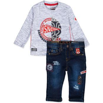 Oblačila Dečki Otroški kompleti Losan 827-8013AC Modra