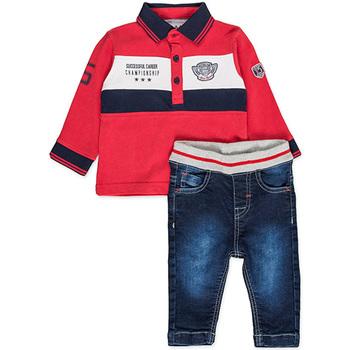 Oblačila Dečki Otroški kompleti Losan 827-8032AC Rdeča