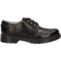 Čevlji  Otroci Čevlji Derby Nero Giardini A830711F Črna