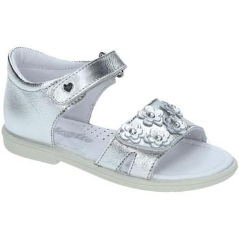 Čevlji  Deklice Sandali & Odprti čevlji Falcotto 1500702-02-9111 Srebro