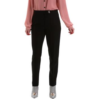 Oblačila Ženske Hlače Chino / Carrot Gaudi 921FD25001 Črna