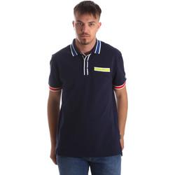 Oblačila Moški Polo majice kratki rokavi Tommy Hilfiger DM0DM06029 Modra