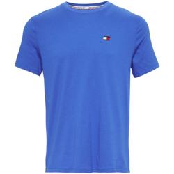 Oblačila Moški Majice s kratkimi rokavi Tommy Hilfiger S20S200074 Modra
