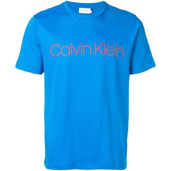 Oblačila Moški Majice s kratkimi rokavi Calvin Klein Jeans K10K103078 Modra