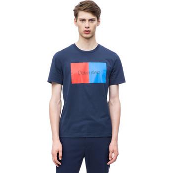 Oblačila Moški Majice s kratkimi rokavi Calvin Klein Jeans K10K103497 Modra