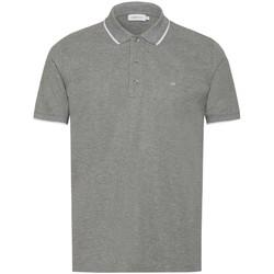 Oblačila Moški Polo majice kratki rokavi Calvin Klein Jeans K10K103019 Siva