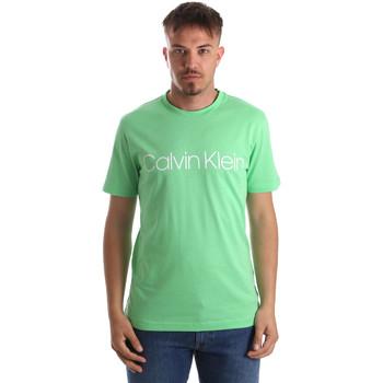 Oblačila Moški Majice s kratkimi rokavi Calvin Klein Jeans K10K103078 Zelena