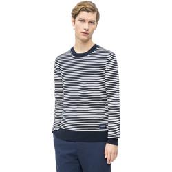 Oblačila Moški Puloverji Calvin Klein Jeans K10K103327 Modra