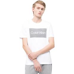 Oblačila Moški Majice s kratkimi rokavi Calvin Klein Jeans K10K103654 Biely