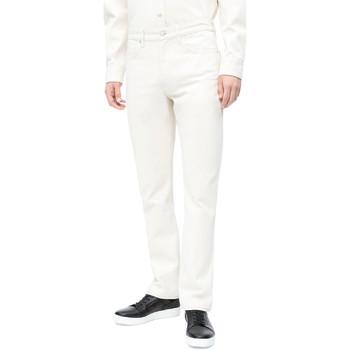 Oblačila Moški Kavbojke slim Calvin Klein Jeans J30J310380 Biely