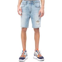 Oblačila Moški Kratke hlače & Bermuda Calvin Klein Jeans J30J310950 Modra
