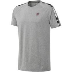 Oblačila Moški Majice s kratkimi rokavi Reebok Sport DT8146 Siva