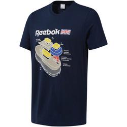 Oblačila Moški Majice s kratkimi rokavi Reebok Sport DT9445 Modra