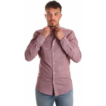 Oblačila Moški Srajce z dolgimi rokavi Antony Morato MMSL00526 FA430360 Rdeča