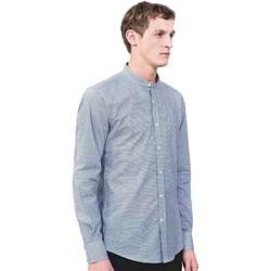 Oblačila Moški Srajce z dolgimi rokavi Antony Morato MMSL00526 FA430360 Modra
