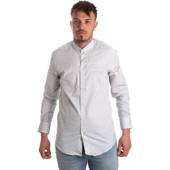 Oblačila Moški Srajce z dolgimi rokavi Antony Morato MMSL00526 FA440024 Biely