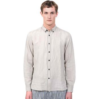 Oblačila Moški Srajce z dolgimi rokavi Antony Morato MMSL00530 FA400051 Siva