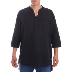 Oblačila Moški Srajce z dolgimi rokavi Antony Morato MMSL00531 FA400051 Modra