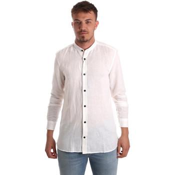 Oblačila Moški Srajce z dolgimi rokavi Antony Morato MMSL00547 FA400051 Biely