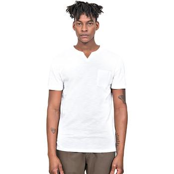 Oblačila Moški Majice s kratkimi rokavi Antony Morato MMKS01487 FA100139 Biely