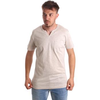 Oblačila Moški Majice s kratkimi rokavi Antony Morato MMKS01487 FA100139 Bež