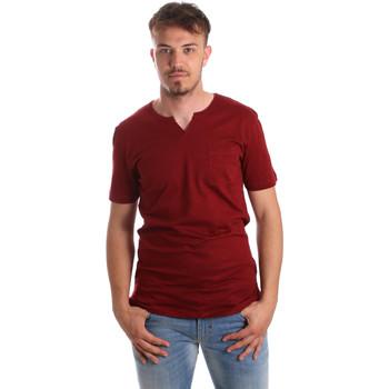 Oblačila Moški Majice s kratkimi rokavi Antony Morato MMKS01487 FA100139 Rdeča