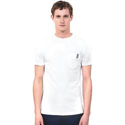 Oblačila Moški Majice s kratkimi rokavi Antony Morato MMKS01490 FA100084 Biely