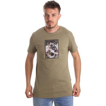 Oblačila Moški Majice s kratkimi rokavi Antony Morato MMKS01551 FA100144 Zelena