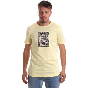 Oblačila Moški Majice s kratkimi rokavi Antony Morato MMKS01551 FA100144 Rumena