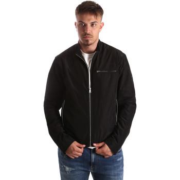 Oblačila Moški Puloverji Gaudi 911FU35005 Črna