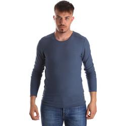 Oblačila Moški Puloverji Gaudi 911FU53013 Modra