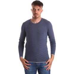 Oblačila Moški Puloverji Gaudi 911FU53018 Modra