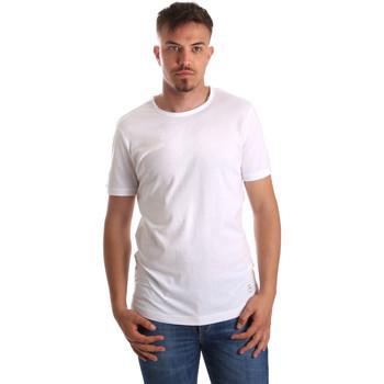 Oblačila Moški Majice s kratkimi rokavi Gaudi 911BU64023 Biely