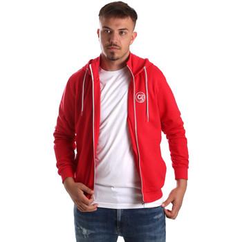 Oblačila Moški Puloverji Gaudi 911BU64043 Rdeča