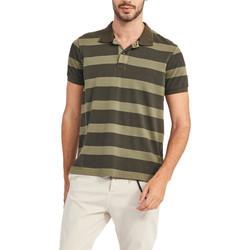 Oblačila Moški Polo majice kratki rokavi Gaudi 911BU64071 Zelena