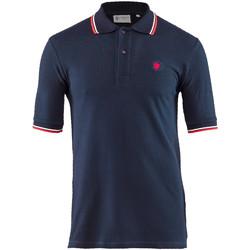 Oblačila Moški Polo majice kratki rokavi Lumberjack CM45940 004 506 Modra