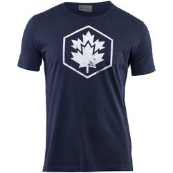 Oblačila Moški Majice s kratkimi rokavi Lumberjack CM60343 002 509 Modra
