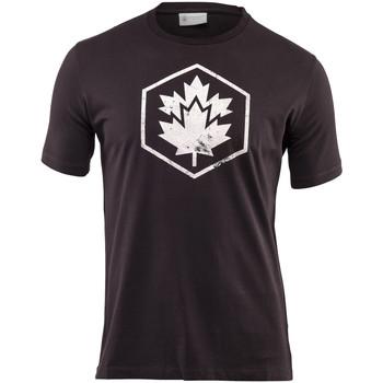 Oblačila Moški Majice s kratkimi rokavi Lumberjack CM60343 001 509 Črna