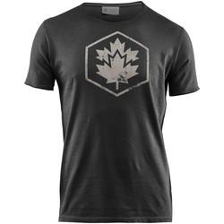 Oblačila Moški Majice s kratkimi rokavi Lumberjack CM60343 002 509 Črna